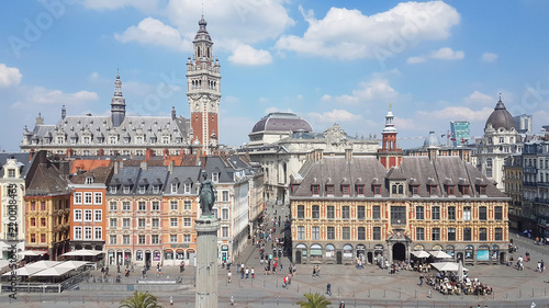 Photo Center of Lille, Northern France