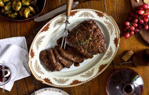 Staande foto Eten Beef Brisket