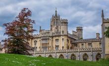New Court, Cambridge, England....