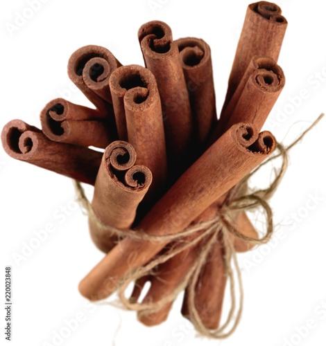 Fotografie, Obraz  Cinnamon Sticks - Isolated