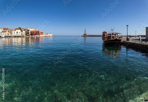 Spoed Foto op Canvas Poort La Canée (Crète - Grèce)