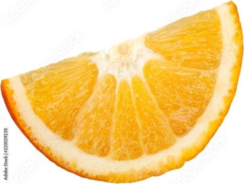 Obraz na plátne Orange wedge