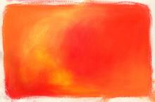 Orange And Yellow Conte Crayon...
