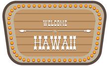 Vintage Street Sign Hawaii
