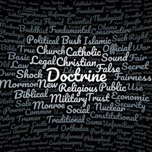 Doctrine Word Cloud