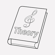 Music Theory Icon Line Element...
