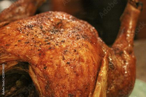 Fototapeta deep-fried turkey obraz