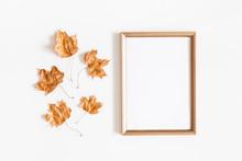 Autumn Composition. Golden Lea...