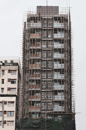 Photo  香港 工事現場