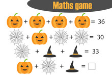 Maths Game With Pictures (hall...