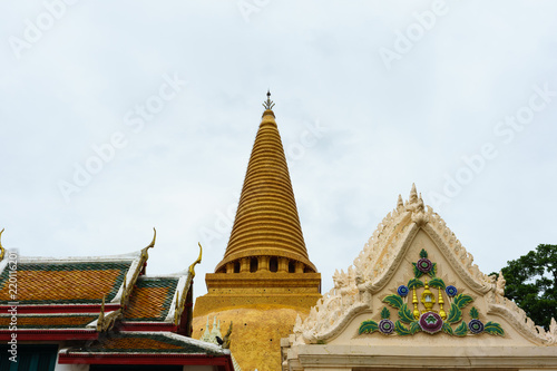 Phra Pathom Chedi (Big pagoda), Nakhon Pathom Province, Thailand. it is very beautiful