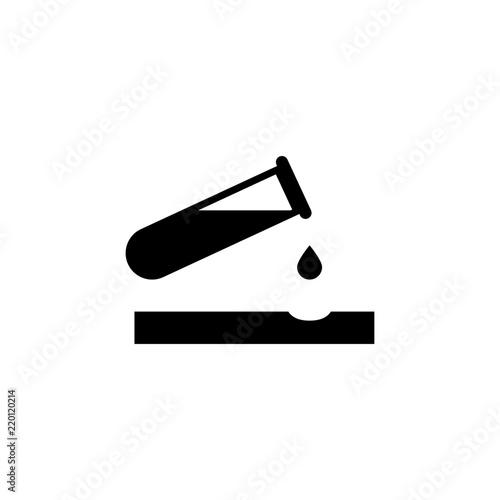 Fotografie, Obraz  Caustic Chemicals Danger, Dripping Acid