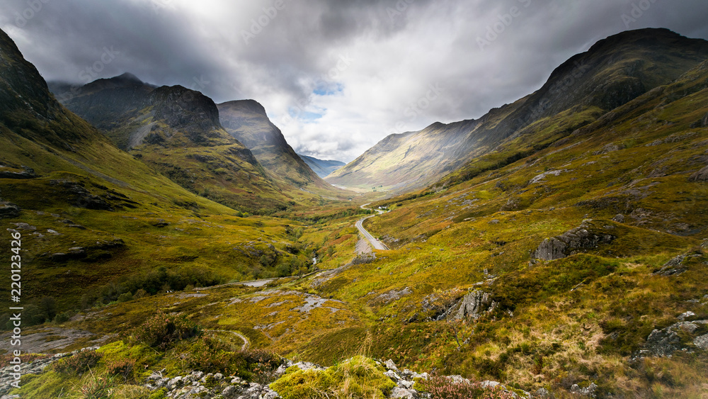 Fototapeta Glencoe - Szkocja