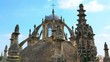Close-Up: Round Roof of Seville Cathedral