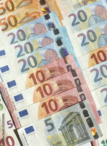 Obraz na plátně  Euro-Banknoten
