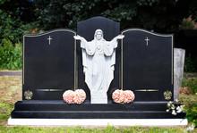 Blank Elaborate Gravestones Wi...