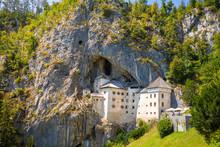 Medieval Predjama Castle In Po...