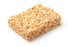 Puff Rice Bar Isolated