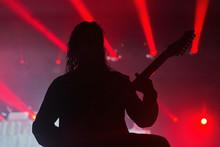 Rock Guitarist Live Performance