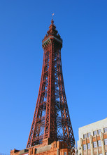 A Vertical View Of Blackpool T...