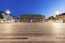 Beauvais City Hall At Night