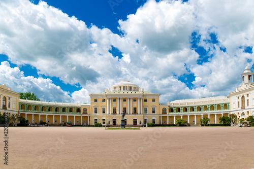 Foto  Pavlovsk Palace - summer palace of Emperor Paul I in Pavlovsk, St Petersburg , R