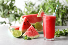 Tasty Summer Watermelon Drink ...
