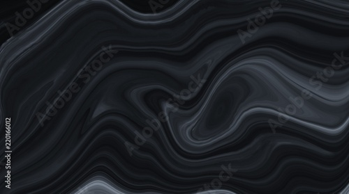 Poster Abstract wave Marble ink colorful. Black marble pattern texture abstract background. can be used for background or wallpaper