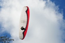 Hang Glider With Rider