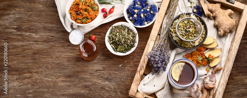 Photo  Natural alternative remedies