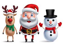 Santa Claus Vector Character W...