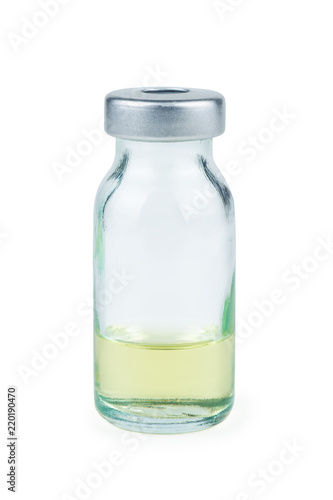 Photo Glass bottle with antibiotic