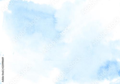 Fotografia, Obraz  Watercolor background soft texture - abstract morning light