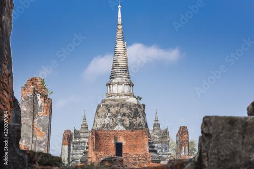 Spoed Foto op Canvas Bedehuis Phrasisanpetch Temple