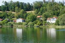 Oberbayerischer See Mit Seevil...