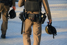 Police Pistol Focus Selected B...