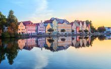 Landshut Old Town, Bavaria, Germany