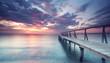abendliche Stille am Meer
