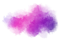 Purple Watercolor Background