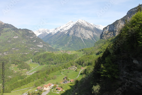 Deurstickers Alpen alps