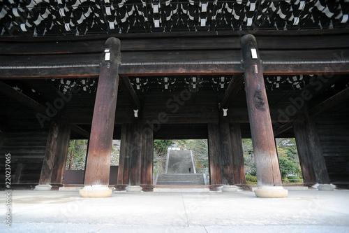 Fotografie, Obraz  大きな山門