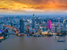 Aerial View Of Ho Chi Minh Cit...