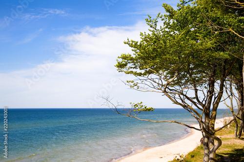 Obraz Morze Bałtyckie wakacje lato urlop odpoczynek - fototapety do salonu