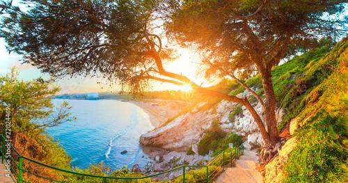 Salou. Hiszpania. Słoneczny krajobraz.
