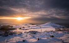 Roseberry Topping In Winter, North Yorkshire
