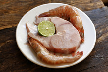 Dogfish Steaks With Lemon, Lar...