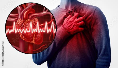 Fotografía Human Heart Attack