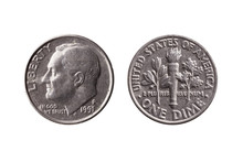 USA Dime Nickel Coin (10 Cents...