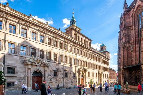 Foto op Plexiglas Antwerpen Rathaus, Nürnberg