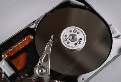 Fotografia  Hard drive detail